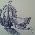 Watermelon by Emese Varga