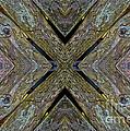 Weathered Wood Tiled IIi by Debbie Portwood