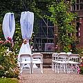 Wedding Arrangement In De Haar Castle. Utrecht by Jenny Rainbow