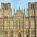 Wells Cathedral by Christopher Rees