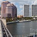 West Palm Beach Skyline by Bill Cobb