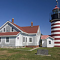 West Quoddy Lighthouse by Jim  Wallace