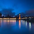 Westminster Blue Hour by Matt Malloy