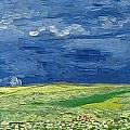 Wheatfield Under Thunderclouds by Vincent van Gogh