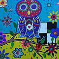 Whimsical Owl by Pristine Cartera Turkus