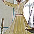 Whirling Dervish Model In Konya-turkey  by Ruth Hager