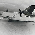 White Christmas Guaranteed For The Raf At Goose Bay by Retro Images Archive