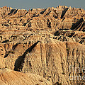 White River Valley Overlook Badlands National Park by Fred Stearns