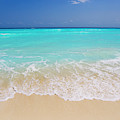 White Sand And Turquoise Waters by Mike Theiss