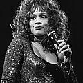 Whitney Houston by Concert Photos
