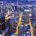 Wide Seattle Cityscape by Mike Reid