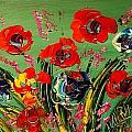 Wild Flowers by Mark Kazav