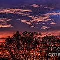Wild West Virginia Sunrise by Thomas R Fletcher