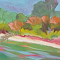 Willamette River 31 by Pam Van Londen