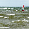 Wind Surfing by Lou Cardinale