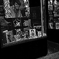 Window Display Night Of Elvis Presley's Death Recordland Portland Maine 1977 by David Lee Guss