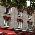 Windows Of Quebec City  by Rosemary Legge
