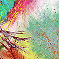Modern Abstract Diptych Part 2 by Julia Apostolova