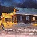 Winter Evening by Irina Hays