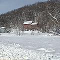 Winter Farm by Bonfire Photography