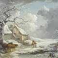 Winter Landscape by Pg Reproductions