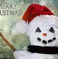 Winter Snowman by Cindy Singleton