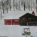 Winter Solitude by Jean Blackmer
