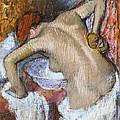 Woman Sponging Her Back by Edgar Degas