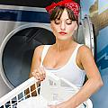 Woman Washing Clothes by Jorgo Photography - Wall Art Gallery