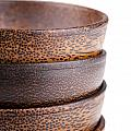 Wooden Bowls Isolated by Tim Hester