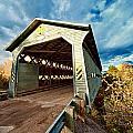 Wooden Covered Bridge  by Ulrich Schade