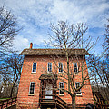 Wood's Grist Mill In Deep River County Park by Paul Velgos