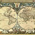 World Map by Gary Grayson