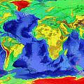 World Map Art by Georgi Dimitrov