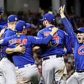 World Series - Chicago Cubs V Cleveland by Ezra Shaw