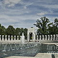 World War 2 Memorial by Judy Wolinsky