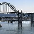 Yaquina Bay Bridge - Newport Oregon by Daniel Hagerman