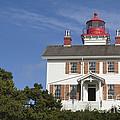 Yaquina Bay Lighthouse by John Shaw