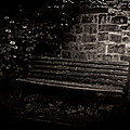 Ye Olde Bench In Bakewell Town Peak District - England by Doc Braham