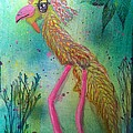 Yellow Bird by Kathleen Mosher