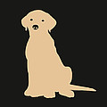 Yellow Labrador by Elizabeth Harshman