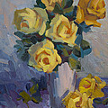 Yellow Roses by Diane McClary