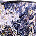 Yellowstone Canyon Yellowstone Np by NPS Photo Frank J Haynes