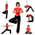 Yoga Poses by Konstantin Sutyagin