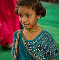 Young Dancer At The Navratri Festival by John Hoey
