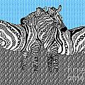 Zebra Love 19 by Karen Larter