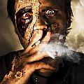 Zombie Killing Some Time by Jorgo Photography - Wall Art Gallery
