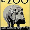 Zoo Poster C1936 by Granger
