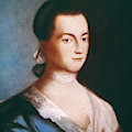 Abigail Adams (1744-1818) by Granger