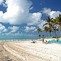 Beach At Coco Cay by Amy Cicconi